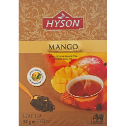 Juodoji arbata Hyson EXOTIC COLLECTION MANGO 100g
