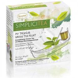 Arbata kapsulėse Simplicitea® My Tropical Green Tea Float