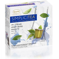 Arbata kapsulėse Simplicitea® Strong Assam Swing