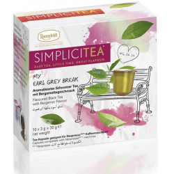 Arbata kapsulėse Simplicitea® Earl Grey Break